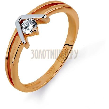 Кольцо с бриллиантом Т141011692