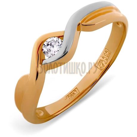 Кольцо с бриллиантом Т141011693