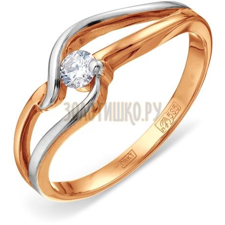 Кольцо с бриллиантом Т141011700