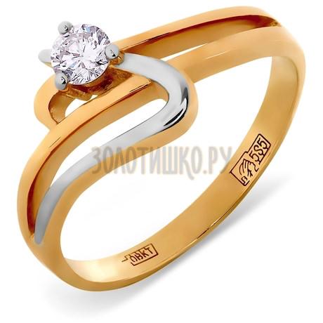 Кольцо с бриллиантом Т141011701