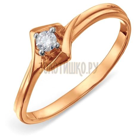 Кольцо с бриллиантом Т141011705