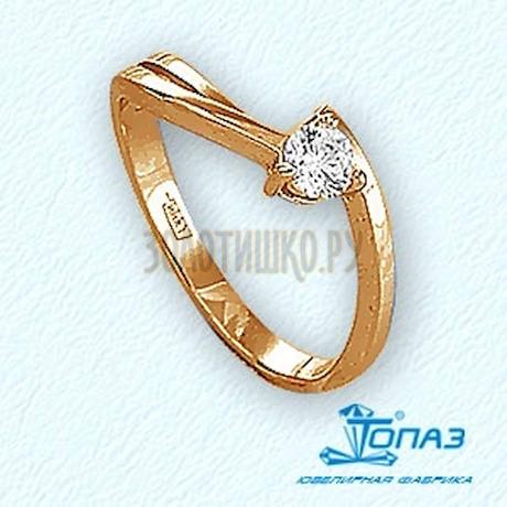 Кольцо с бриллиантом Т141011715