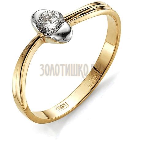 Кольцо с бриллиантом Т141011721