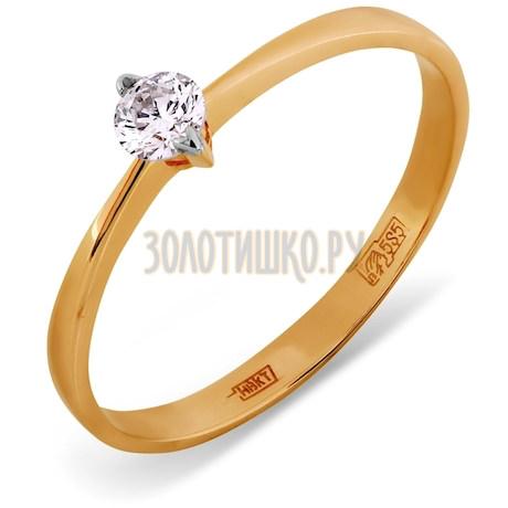 Кольцо с бриллиантом Т141011723