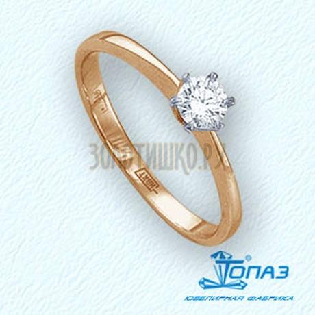 Кольцо с бриллиантом Т141011730