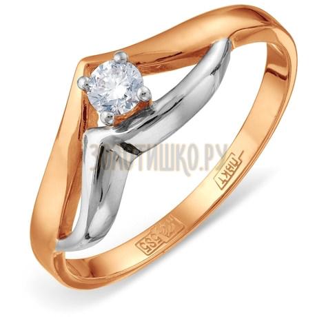 Кольцо с бриллиантом Т141011814