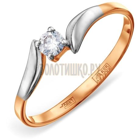 Кольцо с бриллиантом Т141011815