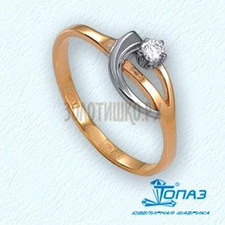 Кольцо с бриллиантом Т141011825