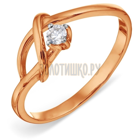 Кольцо с бриллиантом Т141011826