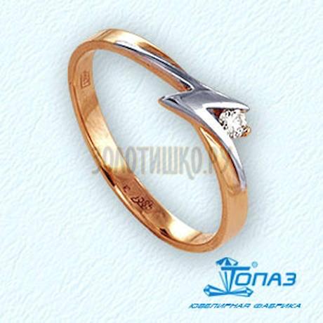 Кольцо с бриллиантом Т141011834