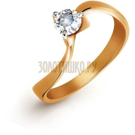 Кольцо с бриллиантом Т141011835