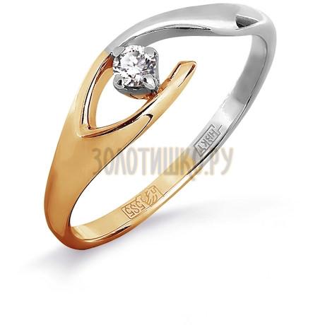 Кольцо с бриллиантом Т141011838