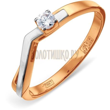 Кольцо с бриллиантом Т141011896