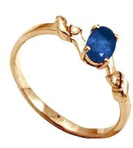 Кольцо с изумрудом и бриллиантами Т141012043