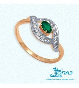 Кольцо с рубином и бриллиантами Т141012053_3