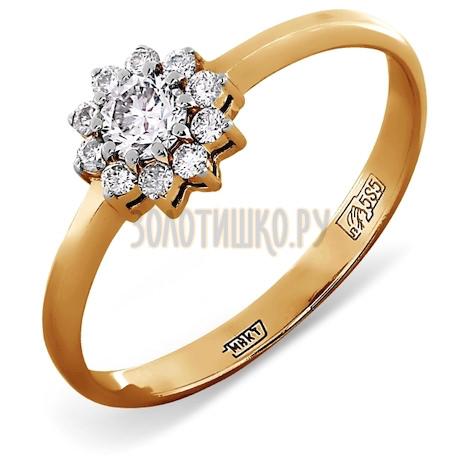 Кольцо с бриллиантами Т141012091