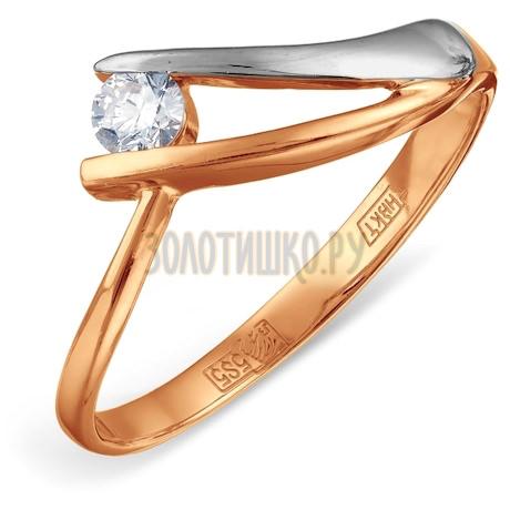 Кольцо с бриллиантом Т141012096