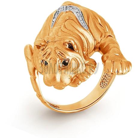 Кольцо с бриллиантами Т141013331