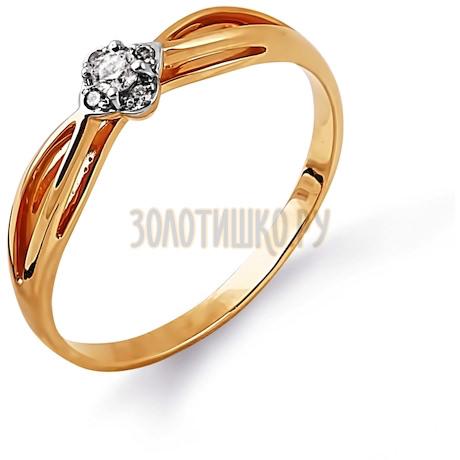 Кольцо с бриллиантами Т141014380
