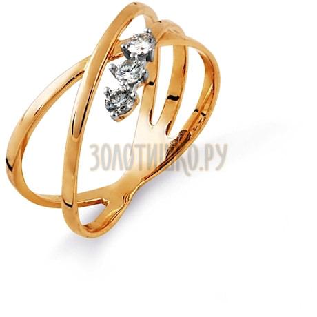 Кольцо с бриллиантами Т141014557