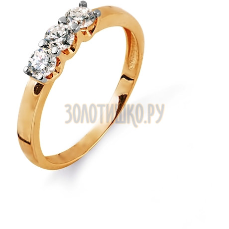 Кольцо с бриллиантами Т141014563