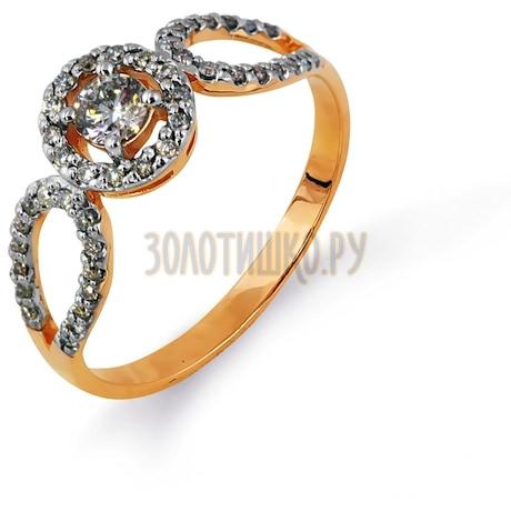 Кольцо с бриллиантами Т141014615