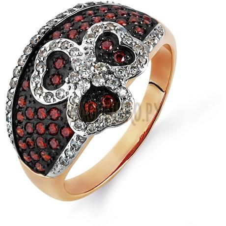 Кольцо с бриллиантами Т141014760