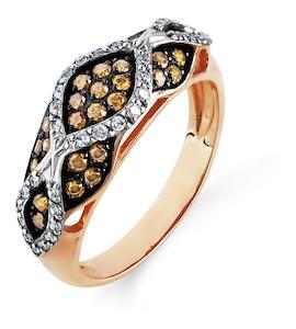 Кольцо с бриллиантами Т141014761-01