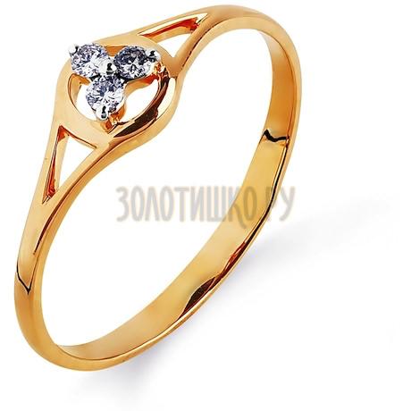 Кольцо с бриллиантами Т141014840