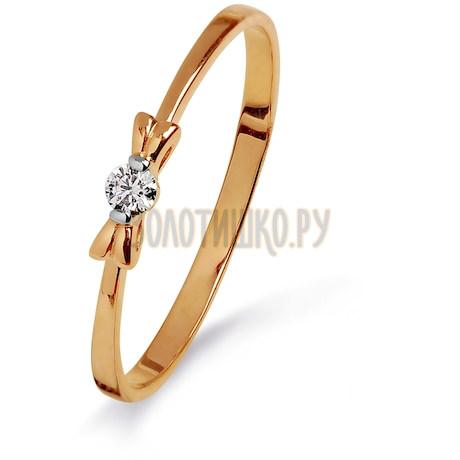 Кольцо с бриллиантом Т141015313