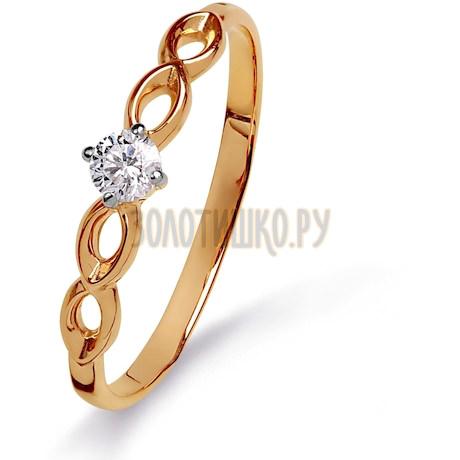 Кольцо с бриллиантом Т141015315