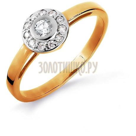Кольцо с бриллиантами Т141016151