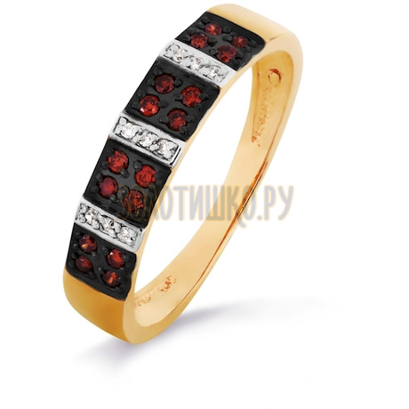 Кольцо с бриллиантами Т141016219