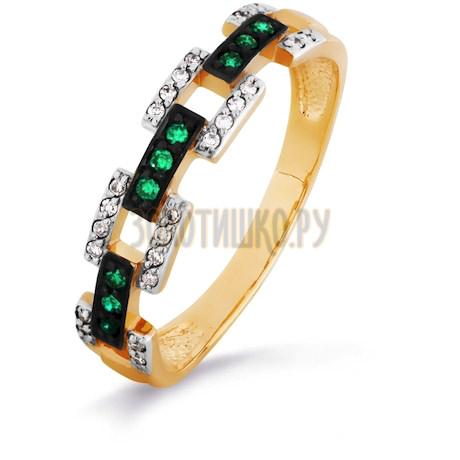 Кольцо с изумрудами и бриллиантами Т141016222-01_3