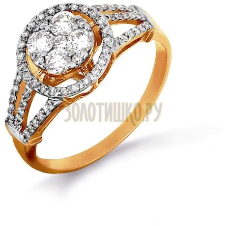 Кольцо с бриллиантами Т141016371