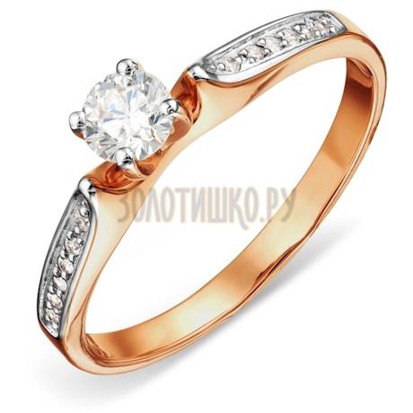 Кольцо с бриллиантами Т141016413-15