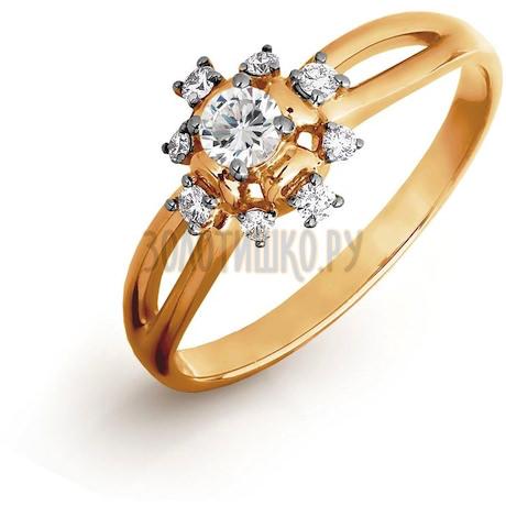 Кольцо с бриллиантами Т141016448