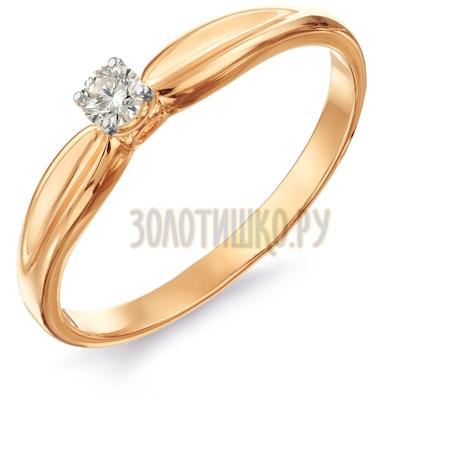 Кольцо с бриллиантом Т141016450