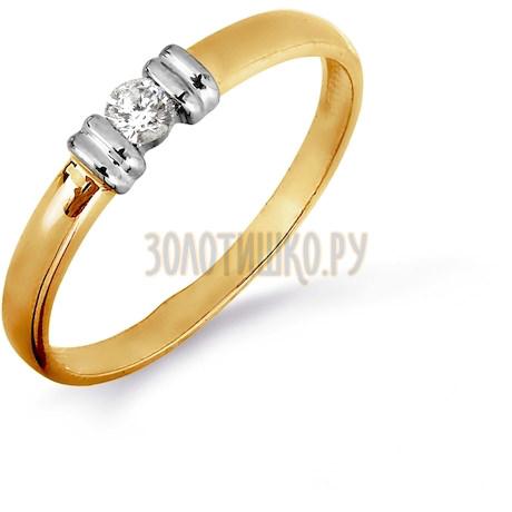 Кольцо с бриллиантом Т141016455