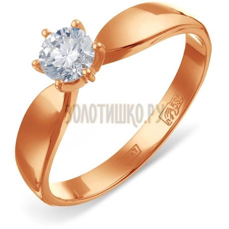 Кольцо с бриллиантом Т141016539-0,3