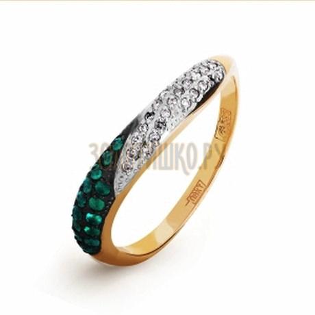 Кольцо с изумрудами и бриллиантами Т141016574_3