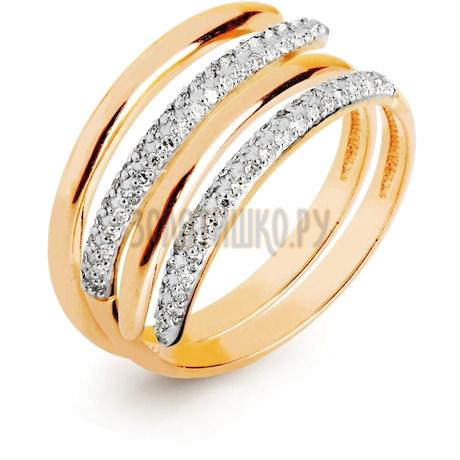 Кольцо с бриллиантами Т141016620