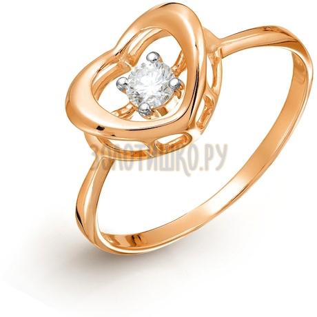 Кольцо с бриллиантом Т141017492