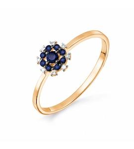 Кольцо с изумрудами и бриллиантами Т141017669_3