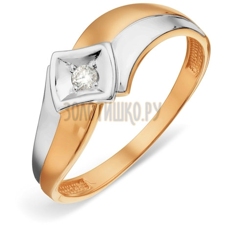 Кольцо с бриллиантом Т141018818