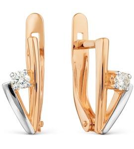Серьги с бриллиантами Т141021692