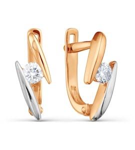 Серьги с бриллиантами Т141021700
