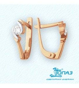 Серьги с бриллиантами Т141021726