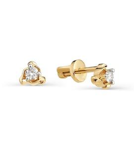 Серьги с бриллиантами Т141021729