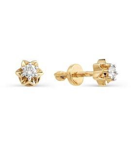 Серьги с бриллиантами Т141021755